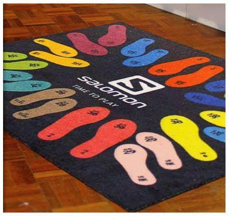 como hacer alfombras personalizadas para empresas