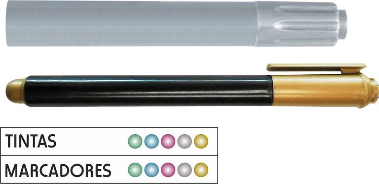 Marcadores metálicos personalizados