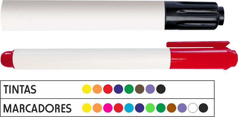 Rotuladores pizarra blanca personalizables